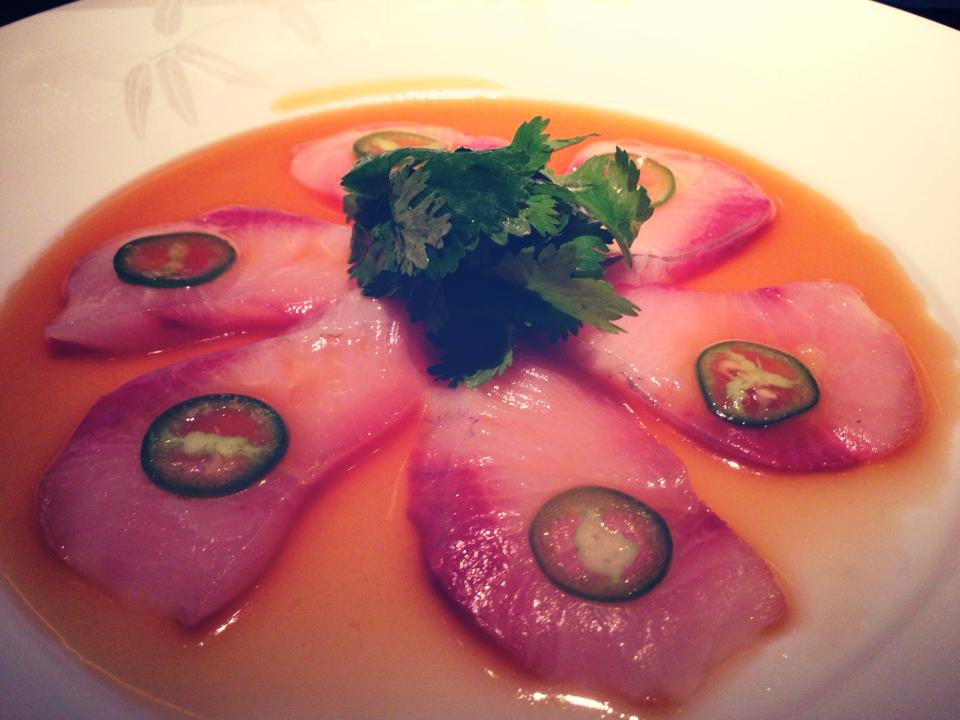 nobu yellowtail