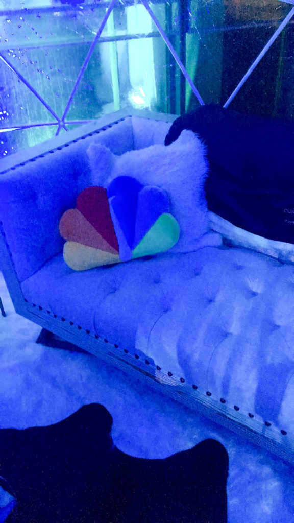 Igloo couch